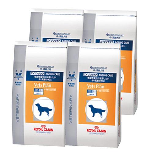 ロイヤルカナン ベッツプラン 犬用 エイジングケア 3kg×4袋【ケース販売】
