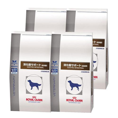 ロイヤルカナン 食事療法食 犬用 消化器サポート 高栄養 ドライ 3kg×4袋【ケース販売】【在庫限り】