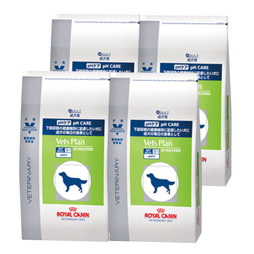 ロイヤルカナン ベッツプラン 犬用 pHケア 3kg×4袋【ケース販売】