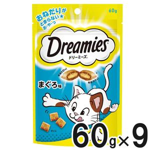 ドリーミーズ まぐろ味 60g×9個【まとめ買い】