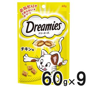 ドリーミーズ チキン味 60g×9個【まとめ買い】