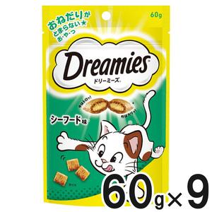 ドリーミーズ シーフード味 60g×9個【まとめ買い】