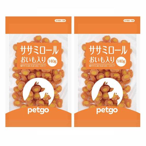 ペットゴー ササミロールおいも入り 140g×2個【賞味期限間近】
