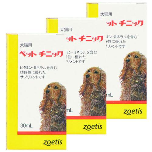 【3個セット】ペットチニック 犬猫用 30mL