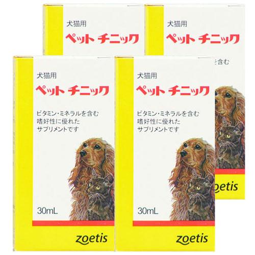 【4個セット】ペットチニック 犬猫用 30mL