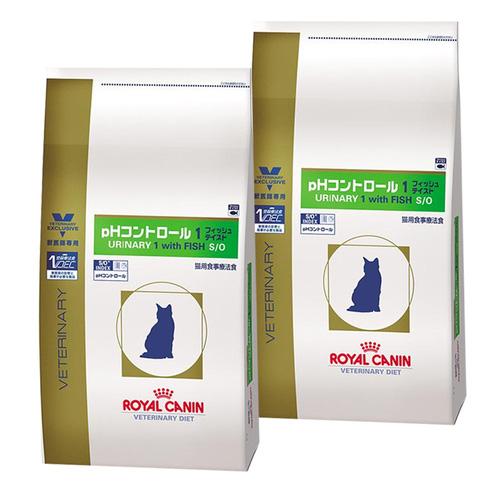 【2袋セット】ロイヤルカナン 食事療法食 猫用 pHコントロール1 フィッシュテイスト ドライ 2kg