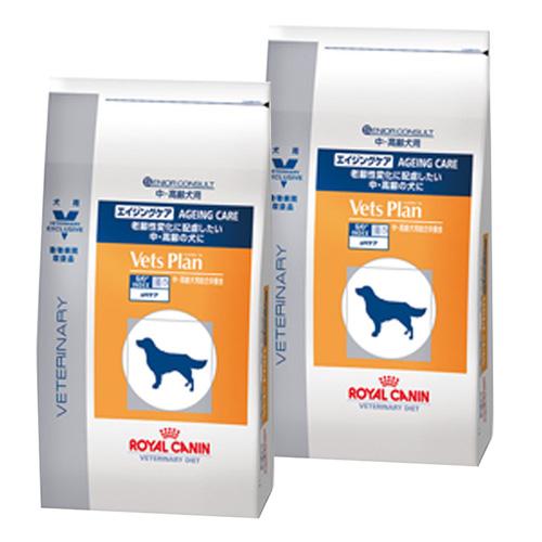 【2袋セット】ロイヤルカナン ベッツプラン 犬用 エイジングケア 8kg