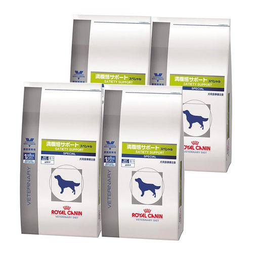 【4袋セット】ロイヤルカナン 食事療法食 犬用 満腹感サポートスペシャル ドライ 3kg