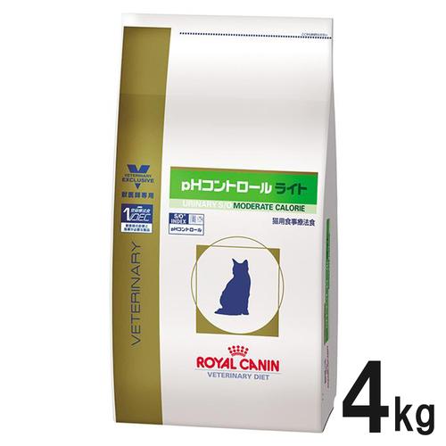 ロイヤルカナン 食事療法食 猫用 pHコントロールライト ドライ 4kg【在庫限り】