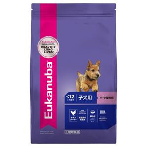 ユーカヌバ 子犬用 小・中型犬用 ~12ヶ月まで 2.7kg
