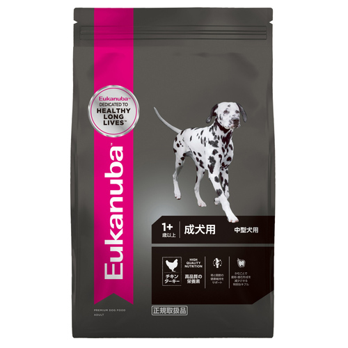 ユーカヌバ 成犬用 中型犬用 1歳以上 7.5kg