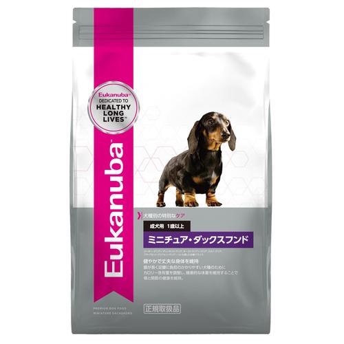 ユーカヌバ 成犬用 ミニチュア・ダックスフンド 1歳以上 800g