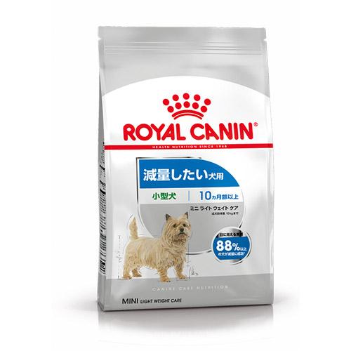 ロイヤルカナン CCN ミニライトウェイトケア 減量したい犬用 800g