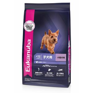 ユーカヌバ スモールパピー 小型犬用 2.7kg