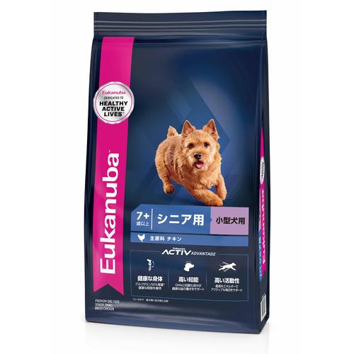 ユーカヌバ スモールシニア 小型犬用 2.7kg