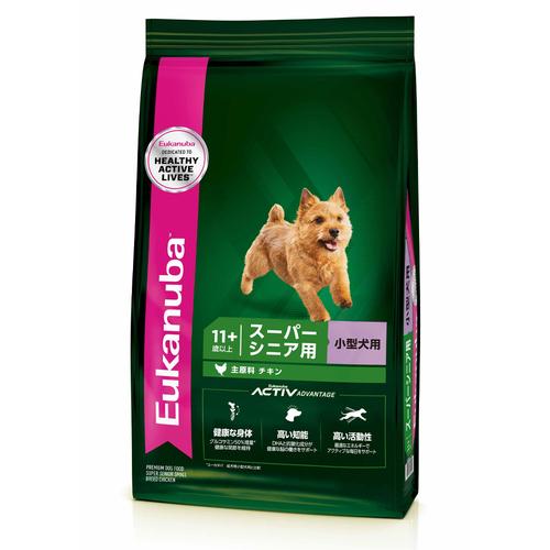 ユーカヌバ スモールスーパーシニア 小型犬用 2.7kg