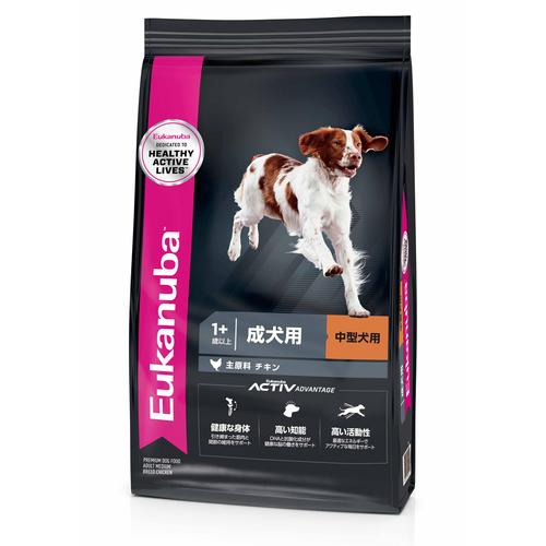 ユーカヌバ ミディアムアダルト 中型犬用 2.7kg