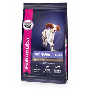 ユーカヌバ パピーラム&ライス 全犬種用 800g