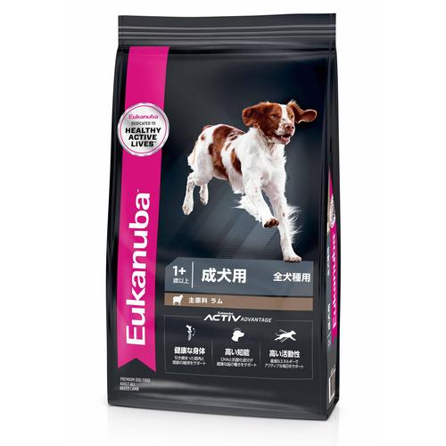 ユーカヌバ アダルトラム&ライス 全犬種用 13.5kg