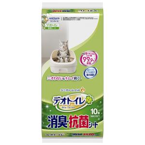 デオトイレ 消臭・抗菌シート 10枚