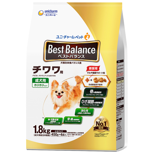 ベストバランス カリカリ仕立て チワワ用 成犬用 1.8kg