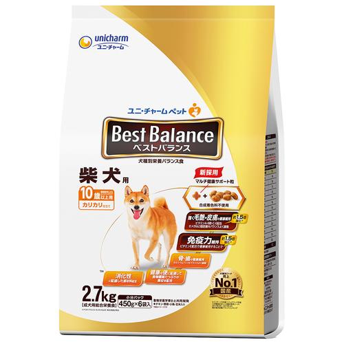 ベストバランス カリカリ仕立て 柴犬用 10歳以上用 2.7kg