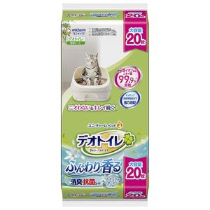 デオトイレ 香る消臭・抗菌シート ナチュラルガーデンの香り 20枚