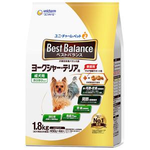 ベストバランス カリカリ仕立て ヨークシャー・テリア用 成犬用 1.8kg