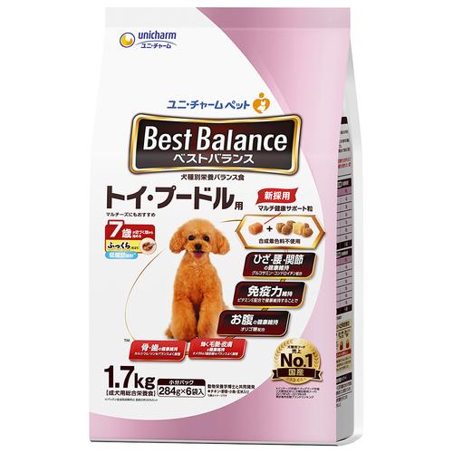 ベストバランス ふっくら仕立て トイ・プードル用 7歳が近づく頃から始める低脂肪 1.7kg