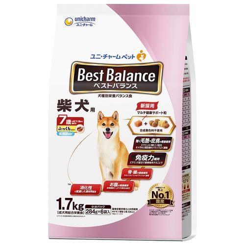 ベストバランス ふっくら仕立て 柴犬用 7歳が近づく頃から始める低脂肪 1.7kg