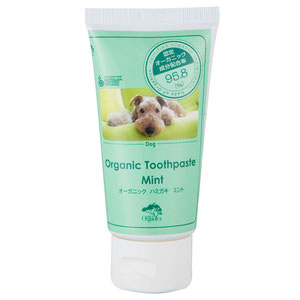made of Organics for Dog オーガニックトゥースペースト ミント 75g