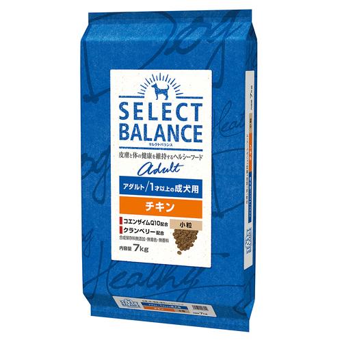 セレクトバランス アダルト チキン 小粒 1才以上の成犬用7kg