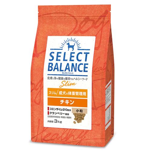 セレクトバランス スリム チキン 小粒 成犬の体重管理用3kg