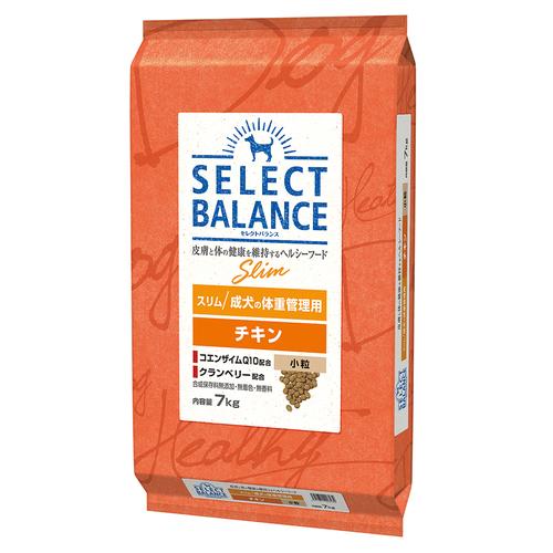 セレクトバランス スリム チキン 小粒 成犬の体重管理用7kg