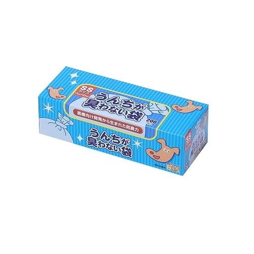 うんちが臭わない袋BOS(ボス) 箱型 SSサイズ 200枚入【在庫限り】