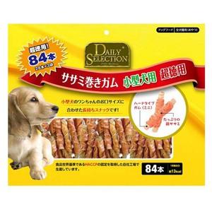 R&D デイリーセレクション ササミ巻きガム 小型犬用 超徳用 84本入