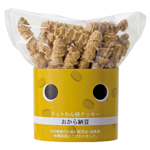 ドットわん 枝クッキーおから納豆 45g