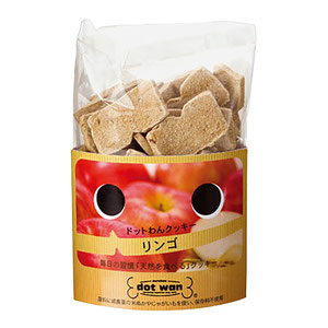 ドットわんクッキー リンゴ 65g