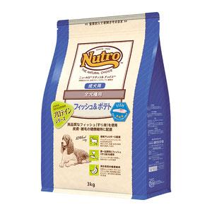 ニュートロ ナチュラルチョイス フィッシュ&ポテト 全犬種用 成犬用 3kg