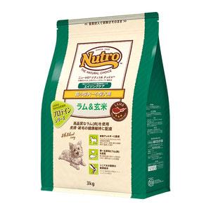 ニュートロ ナチュラルチョイス 超小型犬~小型犬用 エイジングケア ラム&玄米 3kg