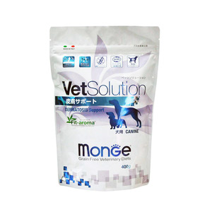 ベッツソリューション 食事療法食 犬用 皮膚疾患サポート 400g