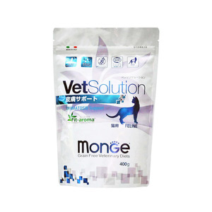 ベッツソリューション 食事療法食 猫用 皮膚疾患サポート 400g
