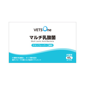 ベッツワン マルチ乳酸菌 犬猫用 細粒 60g(2g×30包)