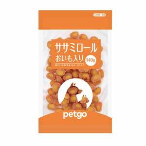 ペットゴー ササミロールおいも入り 140g【在庫限り】