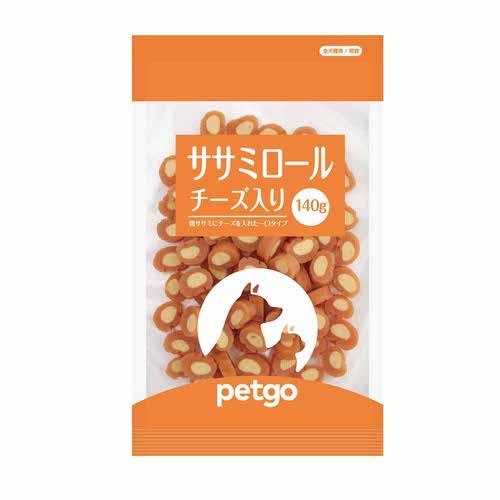 ペットゴー ササミロールチーズ入り 140g【在庫限り】