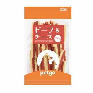 ペットゴー ビーフ&チーズ 150g【在庫限り】
