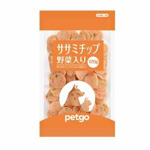 ペットゴー ササミチップ野菜入り 120g【賞味期限間近】【在庫限り】