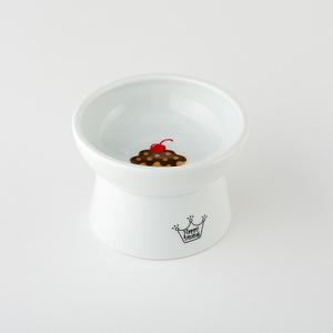 猫壱 ハッピーダイニング 脚付フードボウル カップケーキ シリコン付き