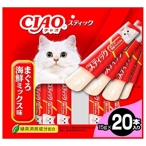CIAO(チャオ) スティック まぐろ 海鮮ミックス味 20本入り