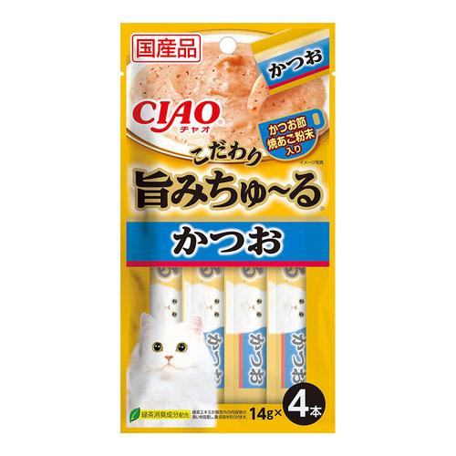 CIAO(チャオ) 旨みちゅ~る かつお 4本入り